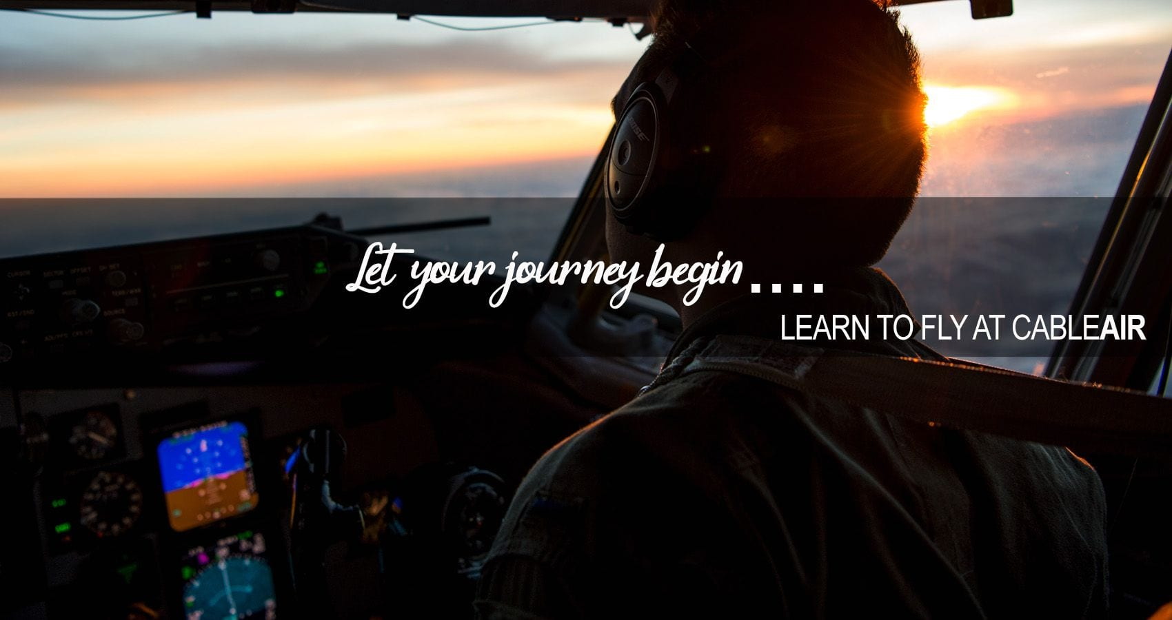 Learn to fly at CableAir